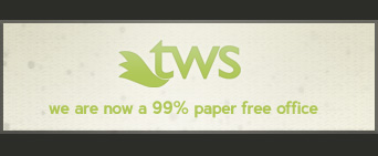 we are now a 99% paper free office